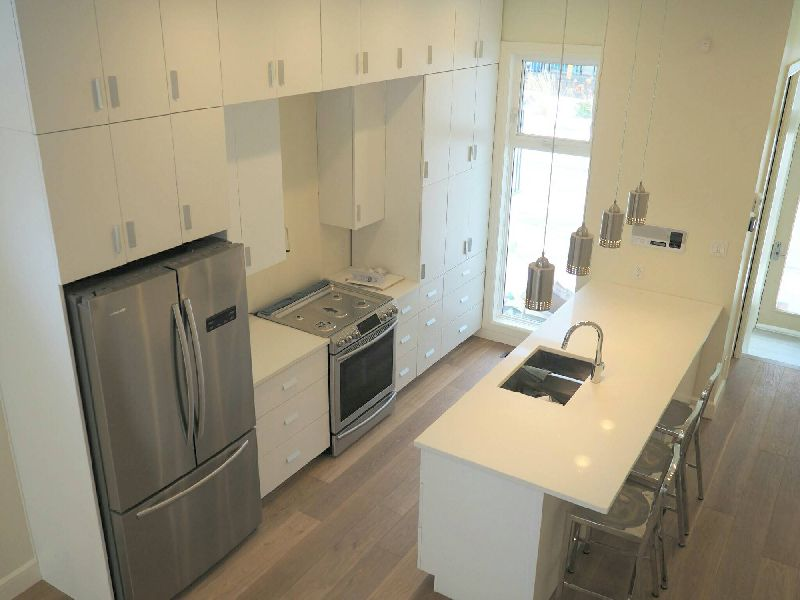 Custom Kitchen with Quartz Composite Counters